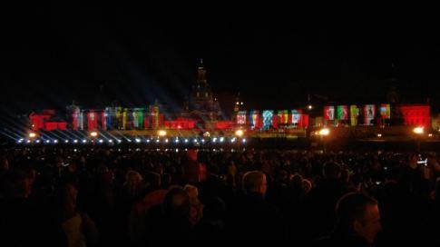 Artikelvorschaubild - Abendsshow - Tag der Deutschen Einheit 2016 in Dresden