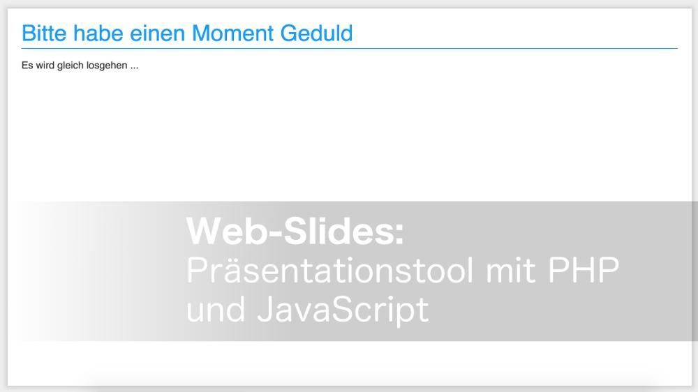 Web-Slides Vorschaubild