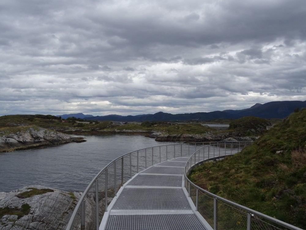 Norwegen September 2016: Auf dem Weg nach Trondheim an der Atlantikküste