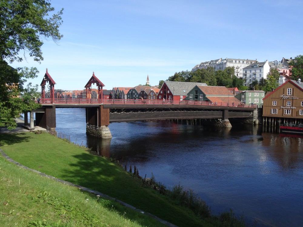 Norwegen September 2016: Trondheim