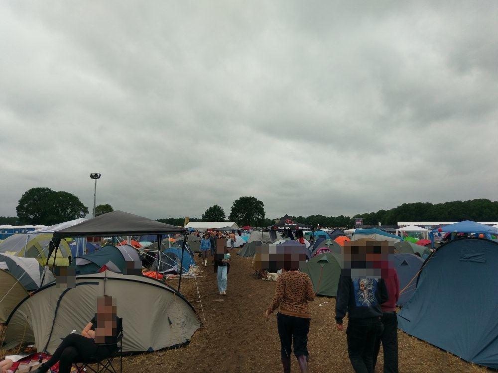 Hurricane-Festival 2017: Campingplatz