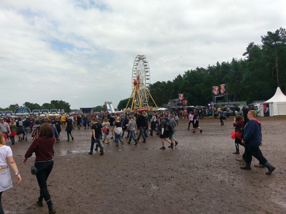 Hurricane-Festival 2017: Gelände am Sonntag Mittag