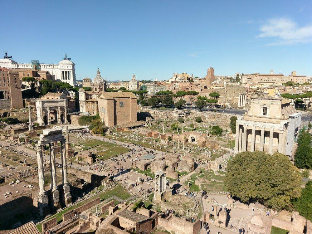Forum Romanum - Rom-Urlaub Oktober 2017