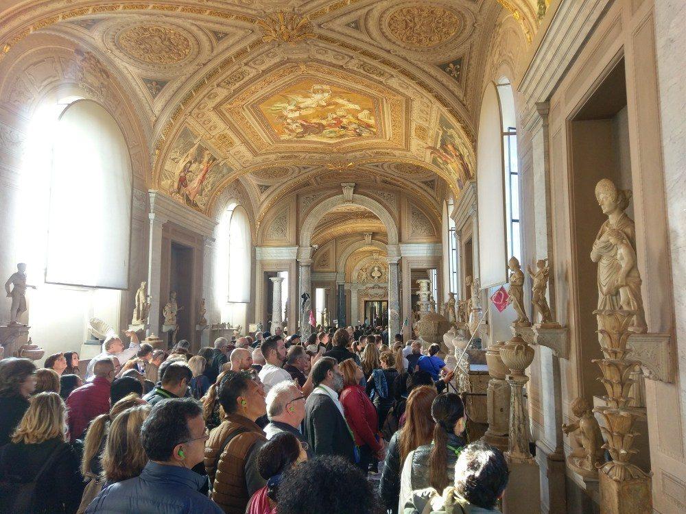 Im Vatikan - Rom-Urlaub Oktober 2017