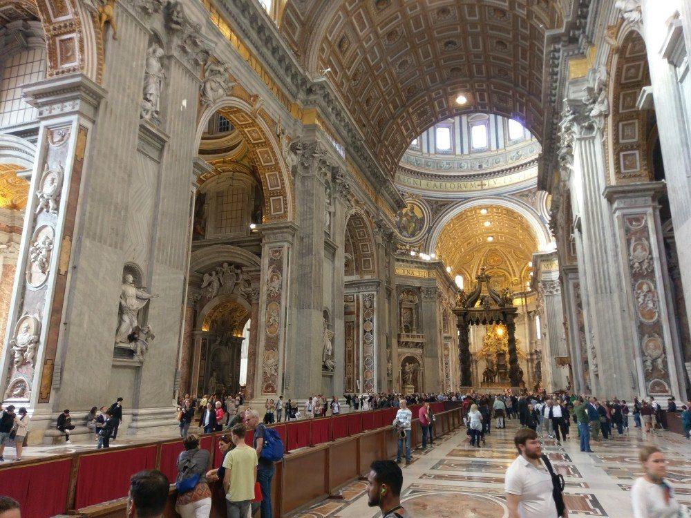 Petersdom - Rom-Urlaub Oktober 2017