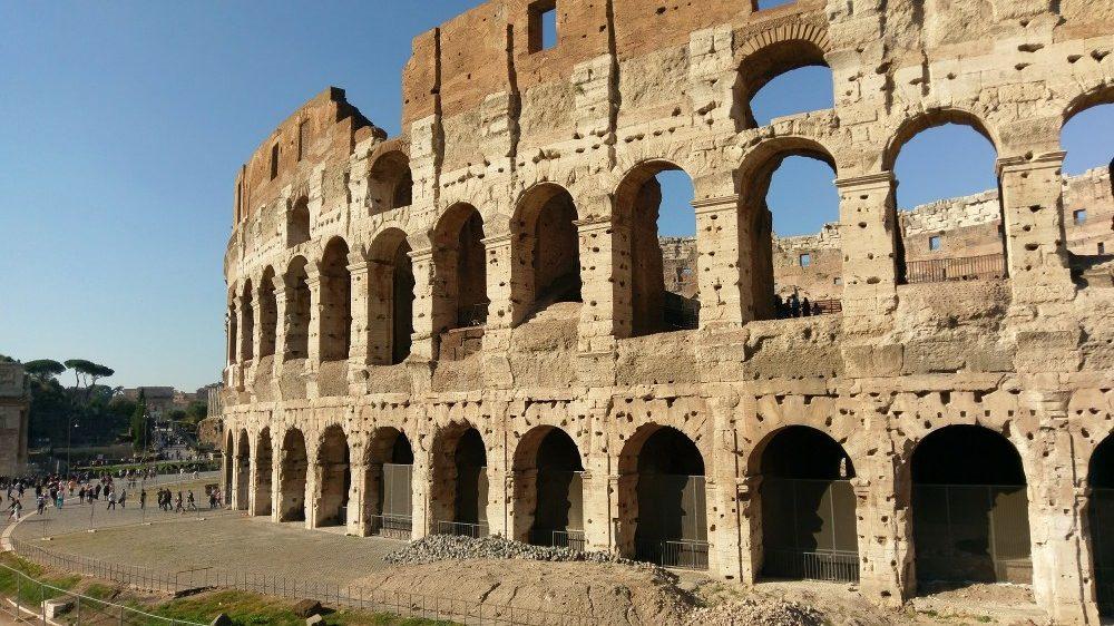 Kolosseum - Rom-Urlaub Oktober 2017