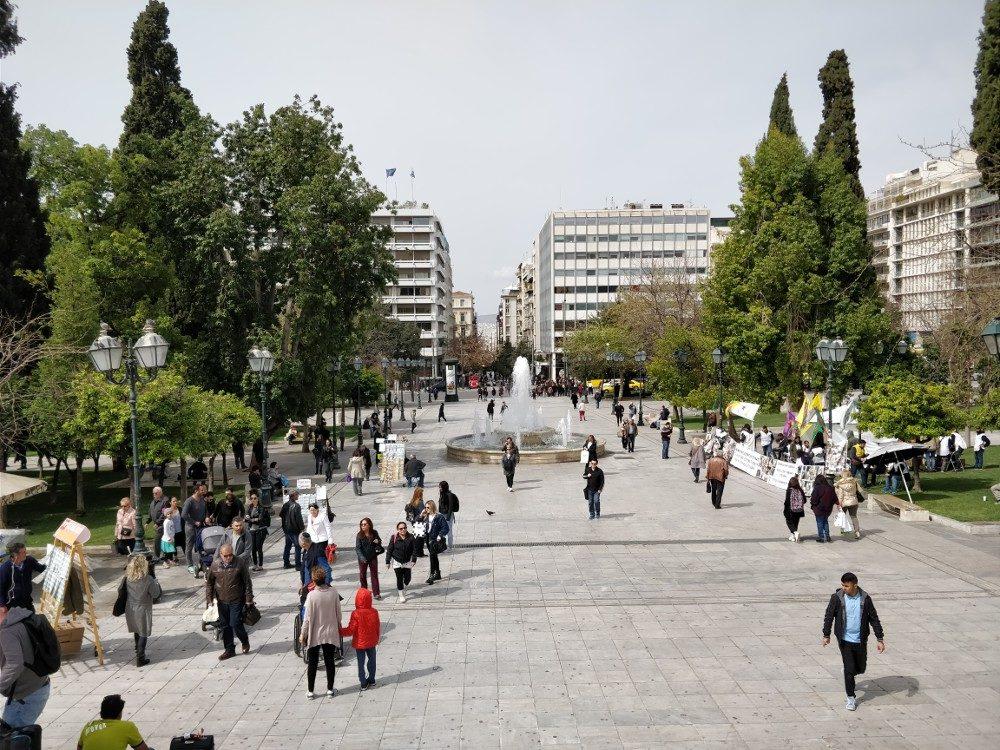Syntagma-Platz, Athen