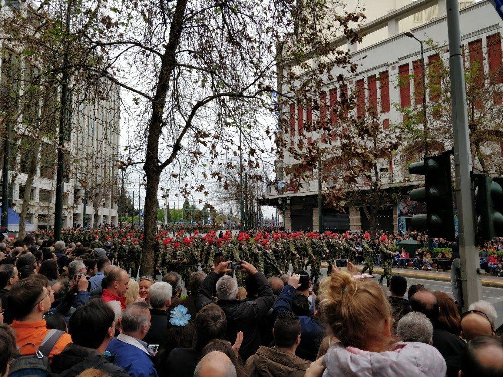 Militärparade, Athen