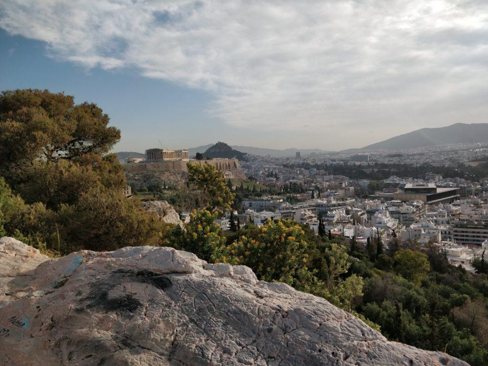Akropolis am Morgen - 27. März 2018