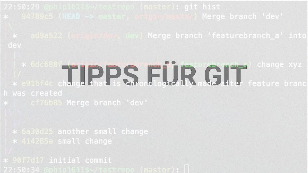 Beitragsbild Best Practice Tipps für Git