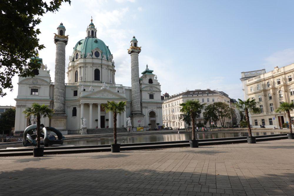 Wien: Karlsplatz