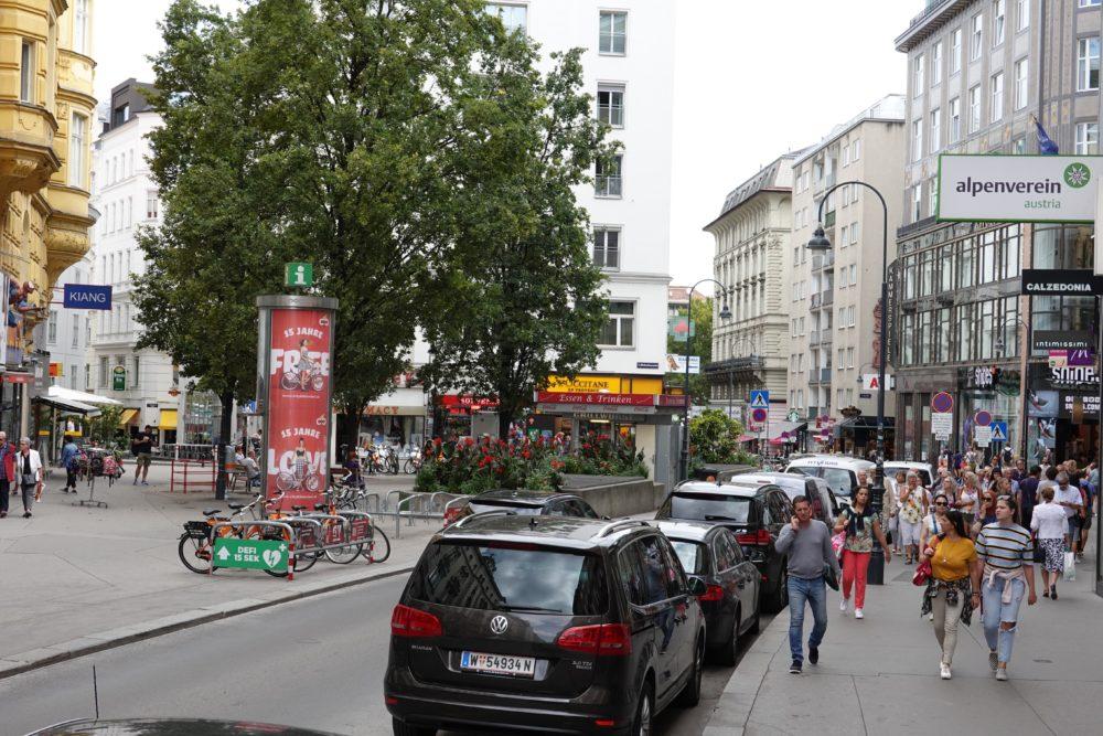 """Wien: Ein Ausschnitt aus der """"normalen"""" Innenstadt"""