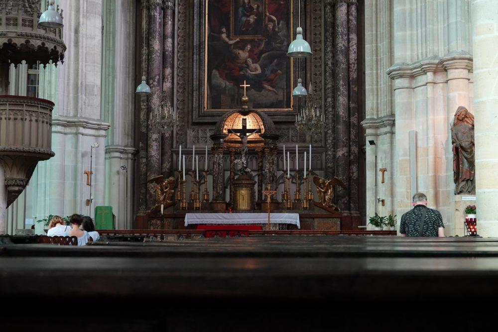 Wien: In einer Kirche