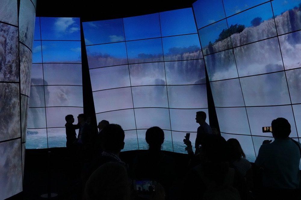 IFA Berlin 2018: OLED-Tunnel von LG