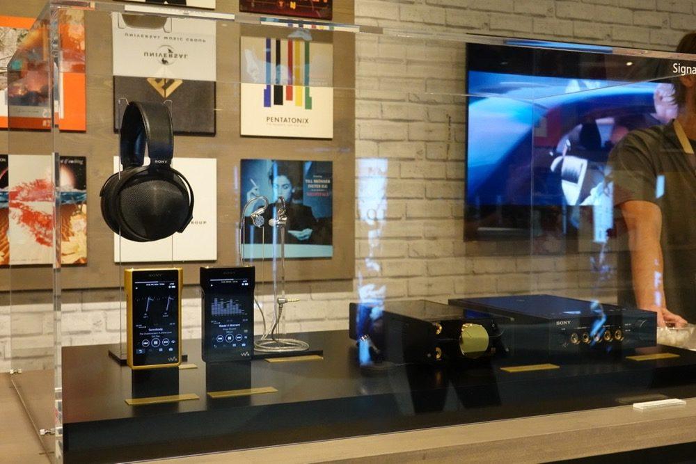 IFA Berlin 2018: HiFi Audio Raum bei Sony