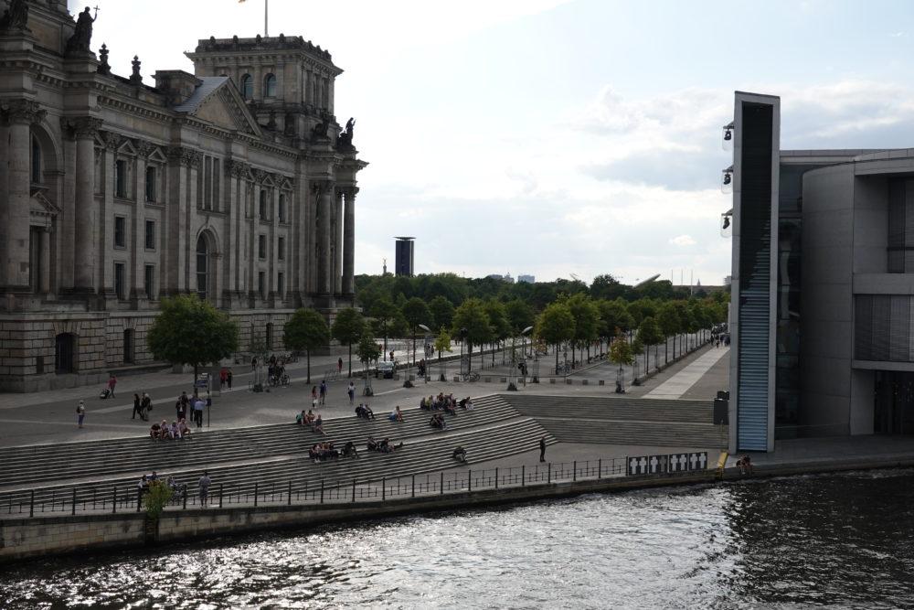 Berlin: Im Regierungsviertel - 01.09.2018