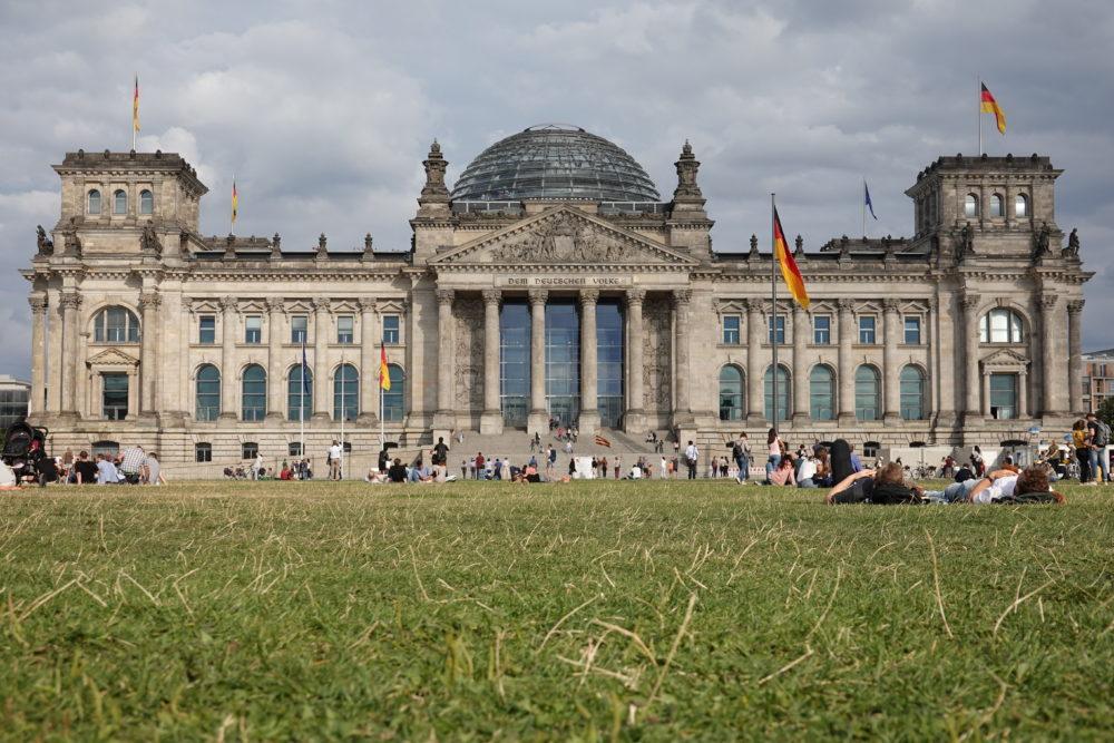 Berlin: Reichstag - 01.09.2018