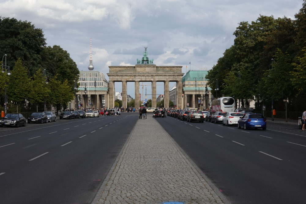 Berlin: Brandenburger Tor - 01.09.2018