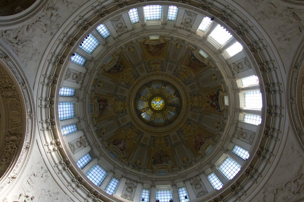 Berliner Dom - Kuppel von innen - 06. Oktober 2018