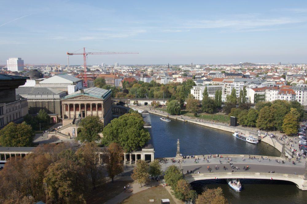 Berliner Dom - Ausblick nach Norden - 06. Oktober 2018