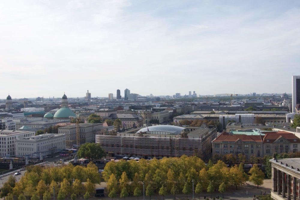 Berliner Dom - Ausblick nach Westen - 06. Oktober 2018