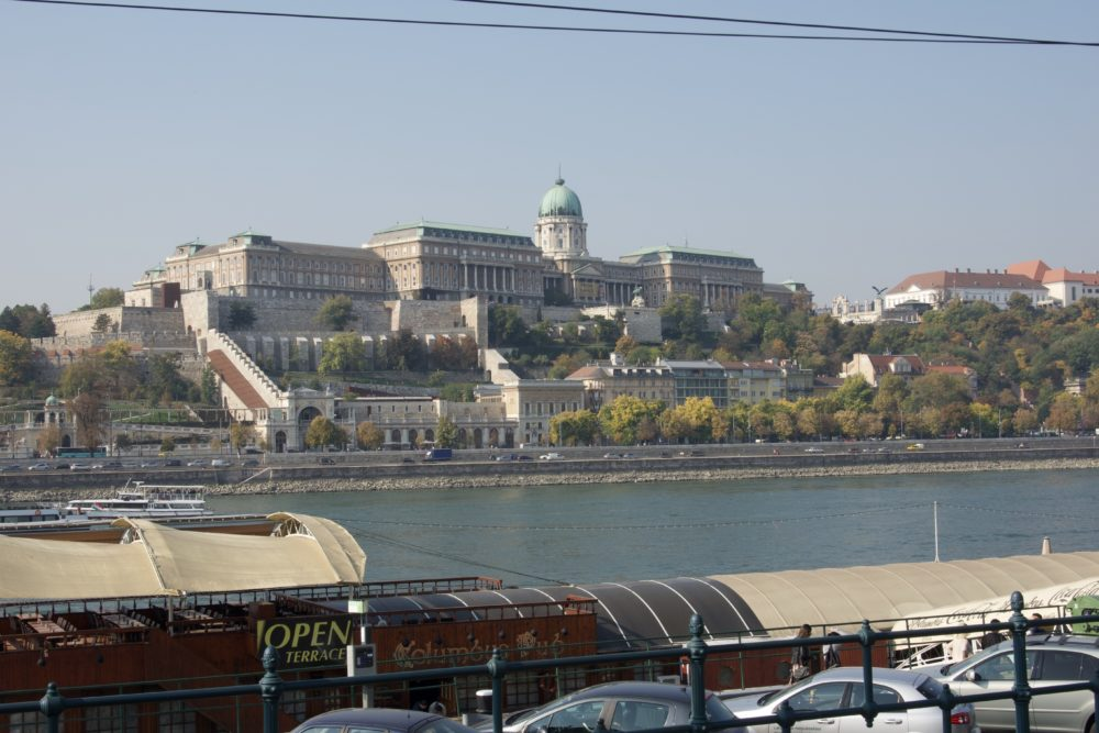 Budapest Oktober 2018 - Burgpalast
