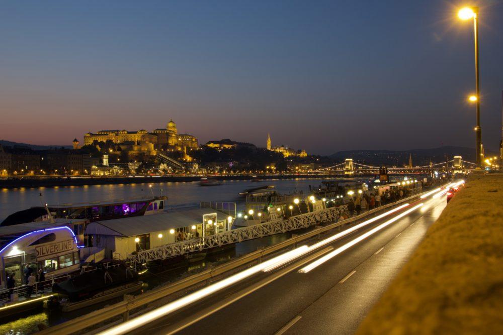 Budapest Oktober 2018 - Langzeitbelichtung Burgpalast