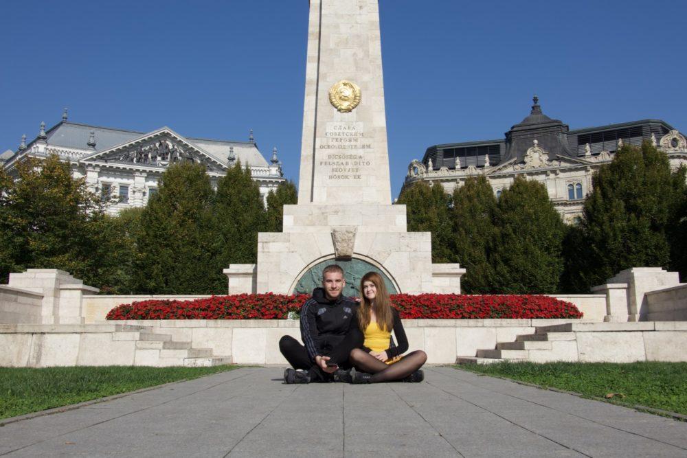 Budapest Oktober 2018 - Selina und ich
