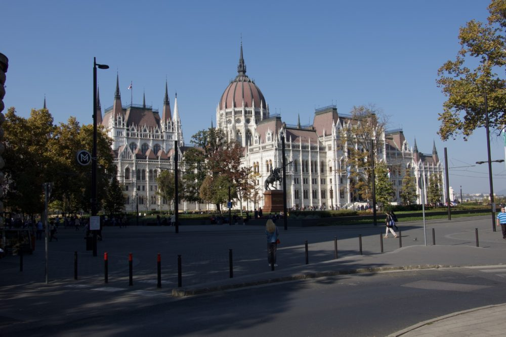 Budapest Oktober 2018 - Parlamentsgebäude