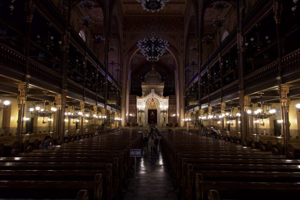 Budapest Oktober 2018 - In der großen Synagoge
