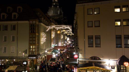 Weihnachtsmarkt - Dezember 2018, Dresden