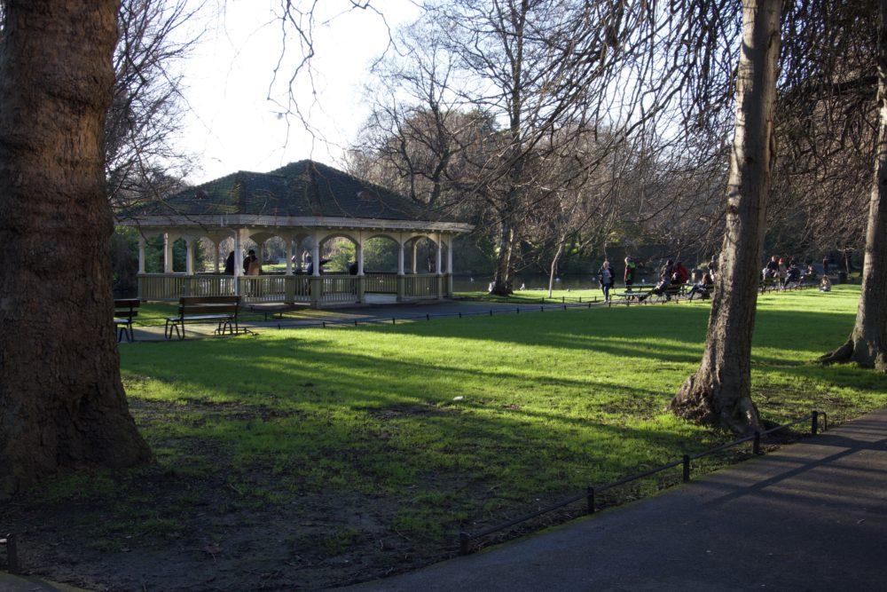 Saint Stephen's Green Park - Dublin - Februar 2019